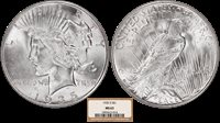 1935-S Peace Silver Dollar NGC MS-63
