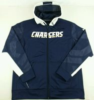 reputable site a348e 2682d LOS ANGELES CHARGERS Nike NFL Therma-Fit Full Zip Bombe