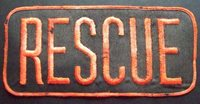 RESCUE LARGE PATCH