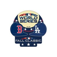 2018 World Series Los Angeles Dodgers Boston Red Sox Lapel Pin New Fall Classic