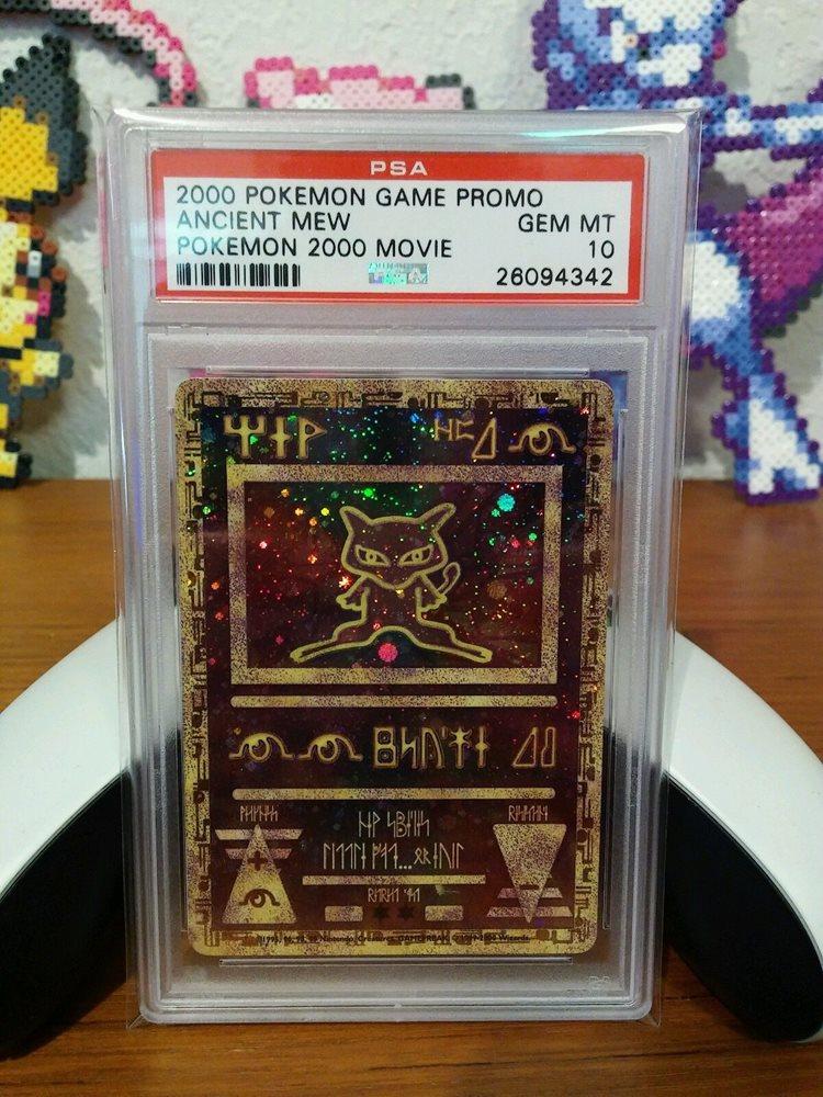 Verzamelingen Pokemon Ancient Mew 2000 Movie Promo PSA 10 Gem Mint Card