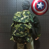 """Camouflage Backpack Bag Fit male 12/"""" Action Figure 1:6 Model 1//6 Scale Toys NANU"""