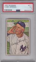 1952 Bowman #217 Hall of Fame Casey Stengel PSA 3