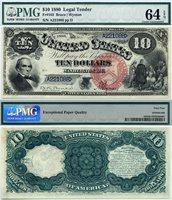 US Currency 1880 $10 United States Note FR-103