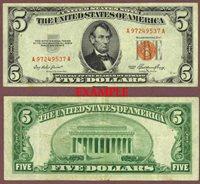1953 $5 FR-1532
