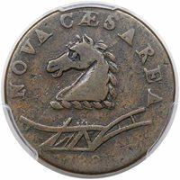 1788 New Jersey CopperMaris 51-g, Rarity-6-VF25 [PCGS Gold Shield]