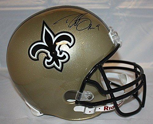 efbb480c5 Drew Brees Signed Full Size New Orleans Saints Helmet -