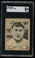 1940 Play Ball Larry Nap LaJoie SUPERMAN AD BACK #173 SGC 5 EX CENTERED