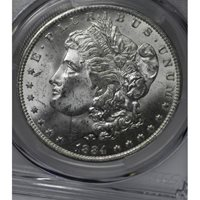 $1 One Dollar 1884 O MS64 PCGS frosty white