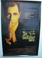 THE GODFATHER PART III MOVIE POSTER Original DS One Sheet 27x40 AL PACINO