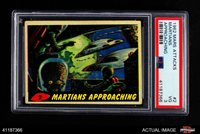 1962 Topps / Bubbles Inc Mars Attacks #2 Martians Approaching PSA 3 - VG