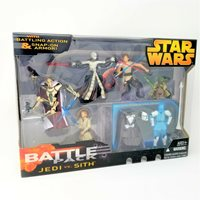 Star Wars Battle Pack Jedi vs. Sith Battling Action & Snap-On Armor MIB
