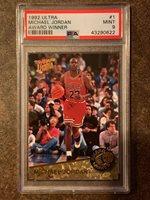 1992 Ultra Michael Jordan Award Winner #1 PSA 9 MINT Chicago Bulls