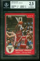 1984 Star 101 MICHAEL JORDAN Rookie Chicago Bulls BGS 2.5