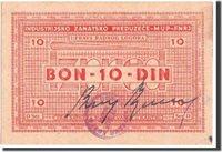 10 Dinara 1941-1944 Kroatien Banknote, Undated