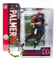 McFarlane Toys NFL Cincinnati Bengals Sports Picks Series 13 Carson Palmer Action Figure [Black Jersey, Damaged Package]