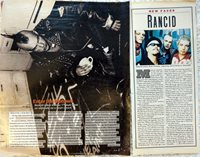 1990s music magazine clippings Rancid / Tim Armstrong