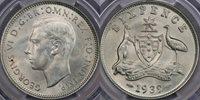 1939 Sixpence - PCGS MS65 1939 Sixpence