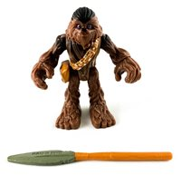 Star Wars Galactic Heroes Chewbacca w// Bowcaster Chewy Return Of The Jedi