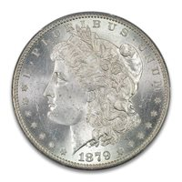 1879-O $1 Morgan Dollar PCGS MS64