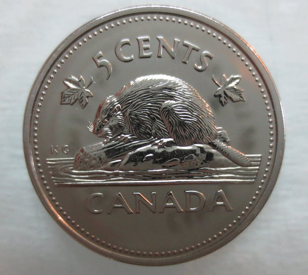 2002P CANADA 25 CENTS PROOF-LIKE DOUBLE DATE 1952-2002 QUARTER COIN