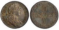 BRITAIN England. William III 1700 AR Shilling. PCGS MS64. S-3516; ESC-1151