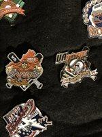 Cooperstown Dreams Park Baseball Trading Pin Set. VA Rage