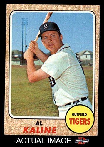 1968 Topps 240 Al Kaline Detroit Tigers Baseball Card Deans Cards 4 Vgex