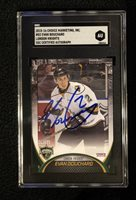 EVAN BOUCHARD SIGNED 2015/16 LONDON KNIGHTS CARD SGC AUTHENTICATED OILERS