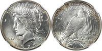 1928 Peace $1 NGC MS61