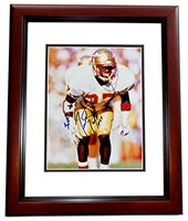 9ee139571da Terrell Buckley Signed - Autographed Florida State Seminoles FSU 8x10 Photo  MAHOGANY CUSTOM FRAME. Click To Enlarge