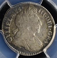 1700 Great Britain 4D Maundy - PCGS VF30 - Catalogue is $225