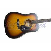 Chris Young Autographed Acoustic Guitar