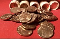 1984 2c UNCIRCULATED 2 cent coin from MINT ROLL