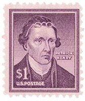 #1052 – 1955 Liberty Series - $1 Patrick Henry