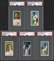 Lot # 64: 1911 T206 PSA Graded Phillies Collection (5)