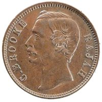 Charles V Brocke, Rajah, Sarawak, Cent