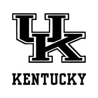 """University of Kentucky Decal """"Sticker"""" for Car or Truck or Laptop"""