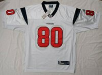 ANDRE JOHNSON #80 Signed White Jersey with COA