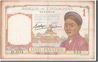 1 Piastre 1932 Französisch Indochina Banknote