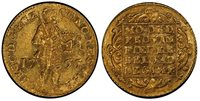 1766 Mint State Netherlands–Gelderland Gold Ducat 1766 Gelderland Ducat PCGS Secure MS-61 ; CoinFacts Plate Coin. This is the ONLY Netherlands Ducat from 1766 ever graded by PCGS in any grade!