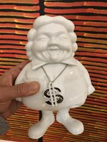 SCULPTURE MC SUPERSIZED White BY RON ENGLISH Porcelain Urban Art Edition of 125