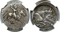 Us 490-475 Bc Ar Didrachm (490-475 Bc) Ngc Ch Vf Star (ancient Greek) Strike:5/5; Surface 4/5
