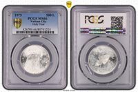 1975 Vatican City Holy Year 500 Lire PCGS MS66 Highly Sought After Coin