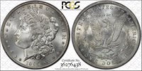 1896-S MORGAN DOLLAR PCGS MS-64+ (CAC)