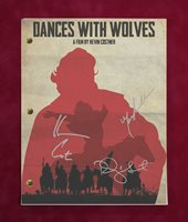 Dances With Wolves with reproduction signatures