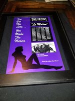 The Front Le Motion Rare Original Radio Promo Poster Ad Framed!
