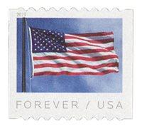 #5342 – 2019 First-Class Forever Stamp - US Flag (Ashton Potter coil)