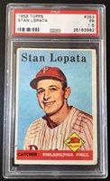 1958 Topps Stan Lopata #353 PSA 1.5 Fair