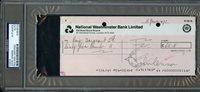 JUNE 1971 JOHN LENNON BEATLES AUTO SIGNED BANK PERSONAL CHECK PSA/DNA ULTRA RARE